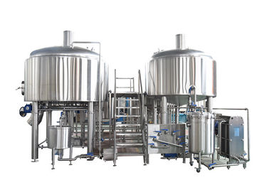 Automatic 2 Vessel Brewhouse Two Vessel Brewing Electricity Heating Energy Saving