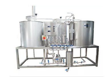 Electic Heating 300L Pilot Brewery / Beer Brewing Equipment With 2.00-3.00mm Stainless Steel 304