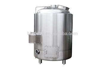 Electric Heating Hot Liquor Tank 3000L Output Beer Brewing Vessel SS304 Material