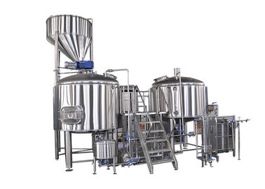 30BBL Large Scale Beer Brewing Equipment Automatic Control Electricity Heating