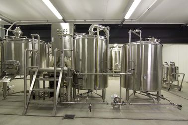 CE 2000L Large Scale Brewing / Electric Brewery 304 Stainless Material
